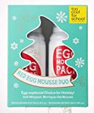 Too Cool For School - Holiday Red Egg Mousse Du, Set de Limpiador y Mascarilla Facial, 70ml+50ml