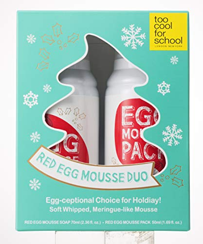 Too Cool For School Holiday Red Egg Mousse Duo