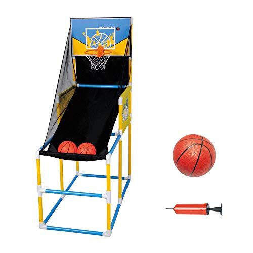 Einfach zu montieren Kind Innen Elektronische Schießmaschine Basketball-Ständer Automatische Wertung Basketballkorb Mit Kugel Und Pumpe Kinder Backboard-Spiel Sporttraining Spielzeug Einstellbar