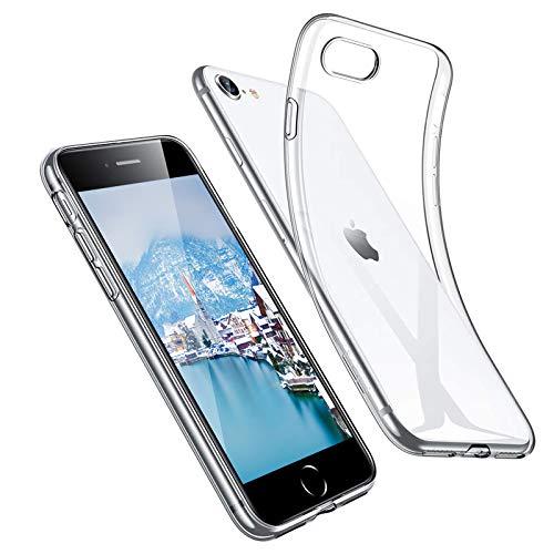 Ylife Hülle Kompatibel mit iPhone 6S/iPhone 6,Slim Transparent Fallschutz,Anti-Vergilbung rutschfest Hochwertig TPU Weiche Schutzhülle,Anti-Scratch Stoßfest Silikon Handyhülle für iPhone 6S/6
