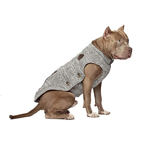 Canada Pooch CP00961 Northern Knit sweater zout & peper, maat 26