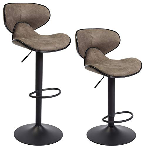 Superjare Set of 2 Barstool Chairs