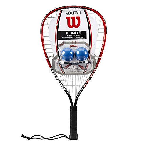 Wilson Racquetball All Gear Set