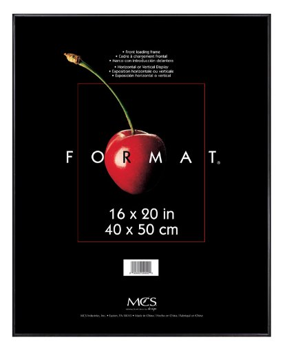 MCS 16x20 Inch Format Frame, Black (12445) Dining Features Frames Kitchen Tabletop Wall