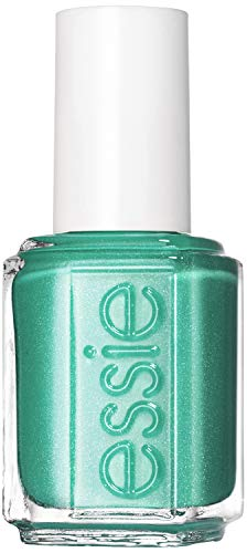 essie Nagellack Metallic Grün naughty nautical Nr. 266 / Ultra deckender Farblack in glänzendem Grün, 1 x 13,5 ml