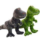 Yipianyun Dinosaurier Spielzeug Kunststoff 2 Stück/Set Spielzeug Cartoon Tyrannosaurus Rex Dinosaurier Arlo Spot Kuscheltier Plüschpuppe Figur Partyzubehör Geburtstagsgeschenk Kinder,2pcs
