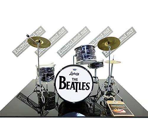 Mini Drum Kit The Beatles Ringo Star Ludwig Tribute Miniature Rock 25...