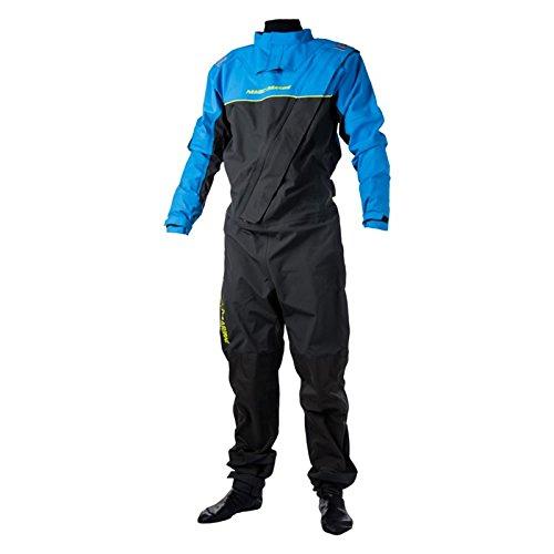Magic Marine Regatta Front-Zip Drysuit 2017 - Blue M