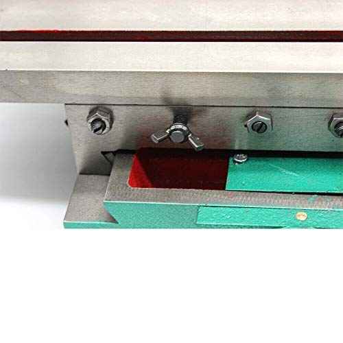X/Y 2 Axis 4 Ways Movable Cross Slide Bench Table Multifunction Heavy Duty Milling Drilling Machine Supporting Worktable Tools Improvements