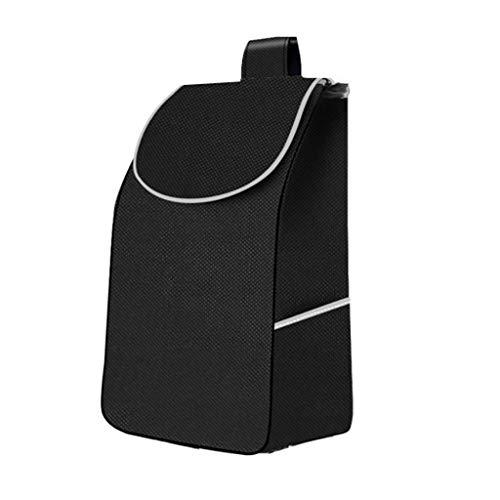 Warenkorb Taschen/Trolley Ersatztasche Oxford Cloth wasserdichte Aufbewahrungstasche Schwarz 33L