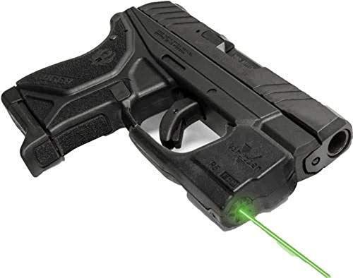 VIRIDIAN WEAPON TECHNOLOGIES 9200045 Reactor 5 Gen II Green Laser Fits: Ruger LCP2 with ECR Instant On IWB Holster Black