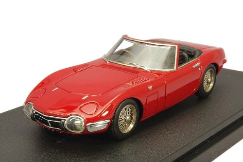 MIRAGE 1/43 Toyota 2000GT open top Red (japan import)