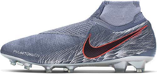 Nike Phantom VSN Elite DF FG, Zapatillas de fútbol Sala Unisex Adulto, Multicolor (Armory Blue/Black/Hyper Crimson 408), 39 EU