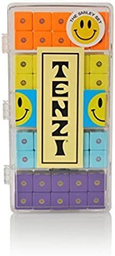 Tenzi Select - The Fast-Paced Fast-Paced Fast-Paced Dice Rolling Game in Fun Patterns - Smiley Set by Tenzi  ventas en linea