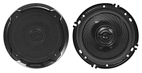 Kenwood KFC-1695PS 6.5 Inch 2 Way Car Speakers with 320 Watts Peak Power (Pair)