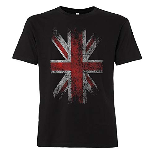 ShirtWorld - Engelse vlag - heren T-shirt