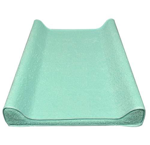 ASMI Manta frottee para–Colchón cambiador 50x 70cm turquesa Talla:50 x 70 cm