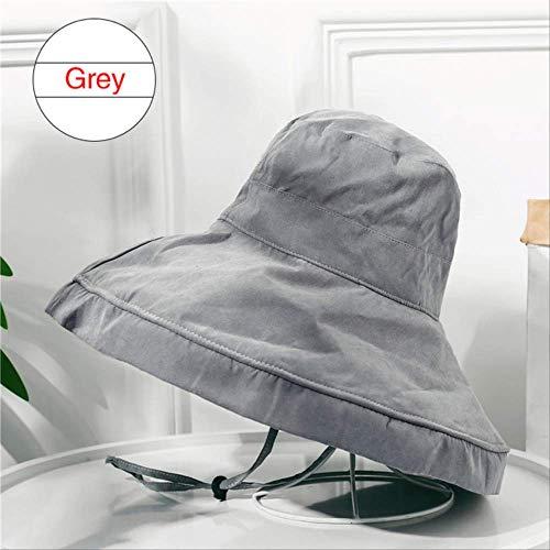 Verano al aire libre de protección solar Sombrero para las mujeres femeninas...
