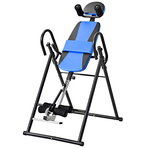 Buy Zhao Xiemao Inversion Table Heavy Duty Inversion with Ultra-Thick Back Support Up to Table Comfo...