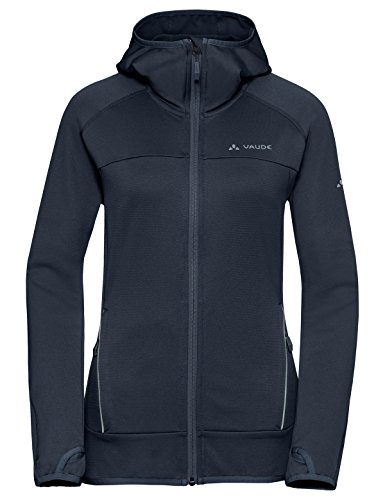 VAUDE Damen Jacke Tekoa Fleece Jacket, eclipse, 38, 409397500380