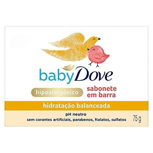 Sabonete Baby Dove Hidratação Balanceada 75 Gr, Baby Dove
