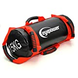 EYEPOWER 3,75-15kg Power Bag 18x50cm Sand Gewichtssack Core Sandbag Sandsack Rot
