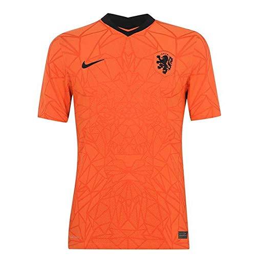 NIKE Knvb M Vapor Mtch JSY SS Hm Camiseta, Naranja/Negro, Extra-Small para Hombre