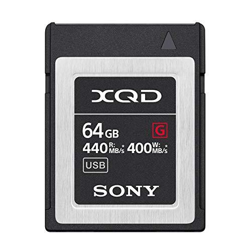 ソニー SONY XQDメモリーカード 64GB QD-G64F 書き込み速度400MB s   読み出し速度440MB s