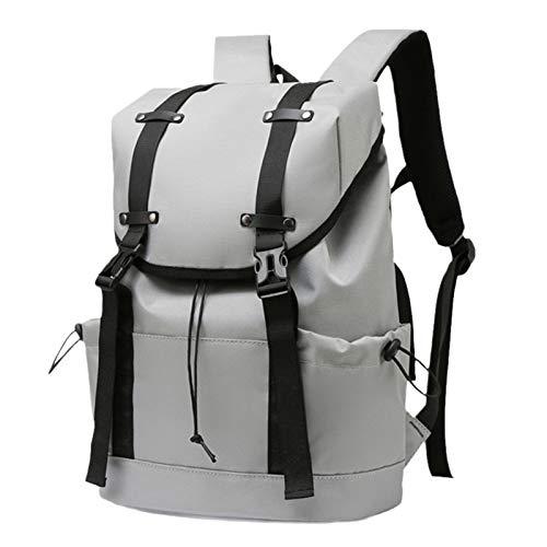 Backpack Laptop,Women Men Bag,School College Computer Water Resistant Bookbag,Travel Business-Grey L