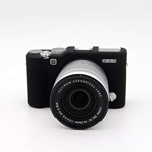 /DURAGADGET Custodia di trasporto per Fujifilm FinePix T500 xp120 Instax Square SQ10/ Instax Mini 26 /Stile vintage colore sabbia/ x-t20