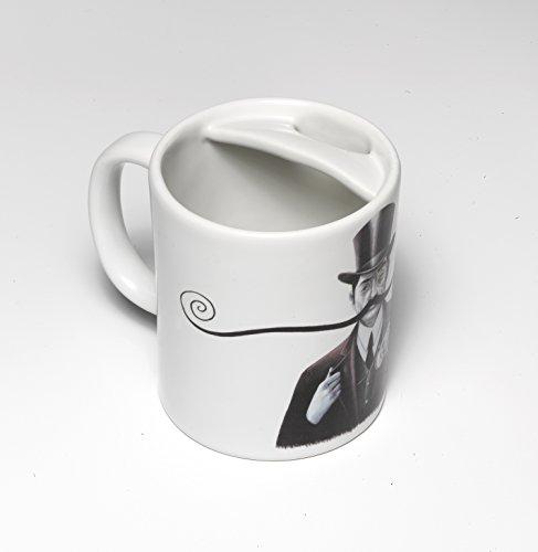 Design Kaffeetasse für Schnurrbartträger