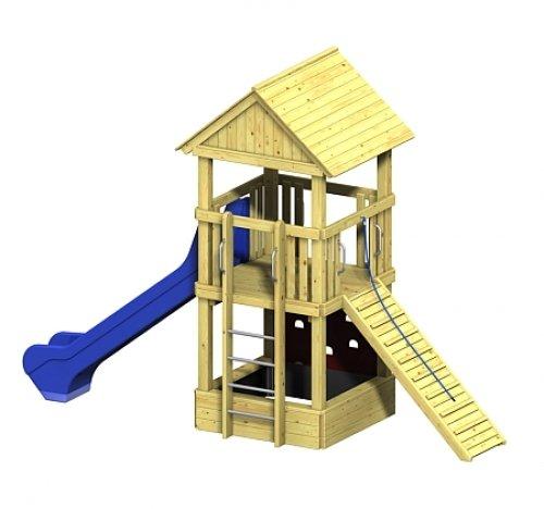 Winnetoo Pro Spielturm Variation 1 - öffentliche Spielanlagen