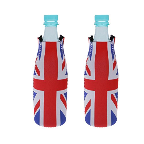 SM SunniMix 2 st bärbar flaskkylare dryckeskylare burköl ölkylare för alla vätskor