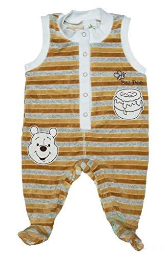 Winnie The Pooh Baby Strampler für Neugeborene in Größe 44 50 56 62 68 74 80 Baumwolle Neutrale Farbe- für Junge für Mädchen warm dick Disney Farbe Modell 6, Größe 62