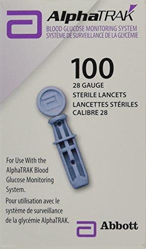 buy AlphaTRAK Lancets, 28 Gauge, Sterile, Box of 100 Diabetes Care