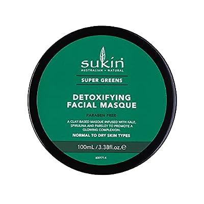 Sukin Super Greens Detoxifying Facial Masque 100ml by Bwx Pty Ltd