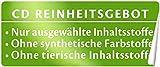 CD Tuchmaske Feuchtigkeit und Glättung – Vegane, feuchtigkeitsspendende Pflegemaske mit pflanzlichem Hyaluron und Wasserlilien-Extrakt für einen strahlenden Teint und glattere Haut –...