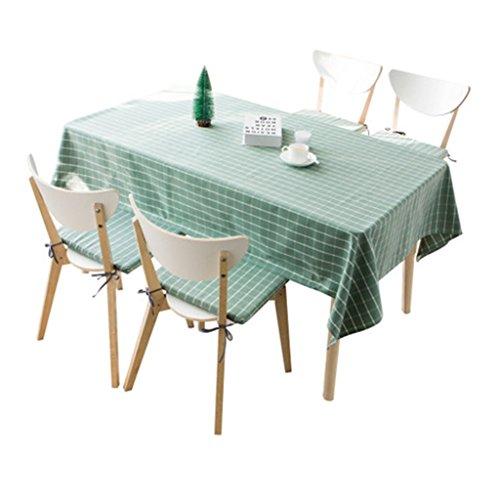 Nappe Nappe Rectangulaire Thé Table Tissu TV Cabinet Tissu Tissu Étanche Moderne Simple Plaid (Size : 100 * 160cm)