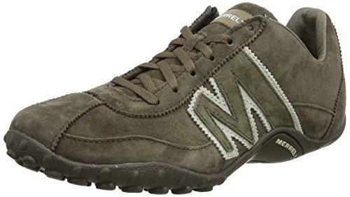 Merrell SPRINT BLAST Herren Sneakers, Grau (Gunsmoke / Weiß), 46.5 EU