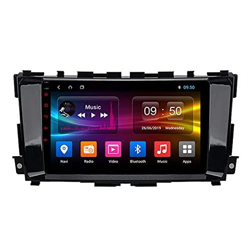 Navigatore satellitare per Auto Stereo per TEANA J32 2013-2016 IPS Touch Screen GPS Android 10.0 Supporto Controllo del Volante BT Mirror-Link 4G WiFi con Telecamera Posteriore