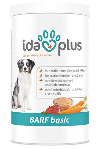 Ida Plus - Barf Basic 700 g - optimale Barf Ergänzung für Hunde - hochwertiger Barf Zusatz - reich an Mineralstoffen, Spurenelemente & B-Vitaminen - für Starke Knochen & Zähne