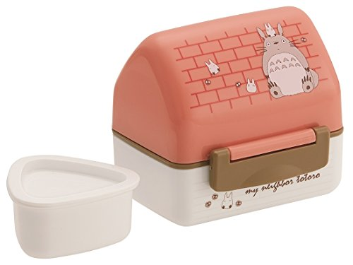 Skater Onigiri case Lunch Box My Neighbor Totoro Ouchi Made in Japan POT5