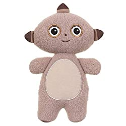 CUDDLY COLLECTABLE: approximately 17cm tall with embroidered facial features DESIGNED TO SNUGGLE: made from soft and textured fabrics that are extremely soft to the touch COMPANION ANY OCCASION: whether to keep a new born company at home or take alon...