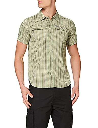 Columbia Silver Ridge 2.0 Camisa de cuadros de manga corta para hombre