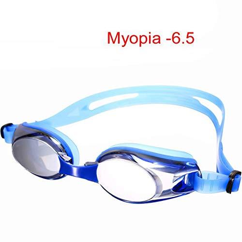 RTOLK Gafas De Natación Miopía -2.5-7 Soporte Antiniebla