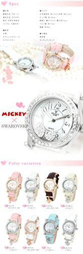 『Disney(ディズニー) 腕時計 ミッキー×スワロフスキー レディース時計』の2枚目の画像