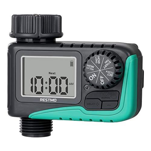 RESTMO Sprinkler Timer, Programmable Water Timer...