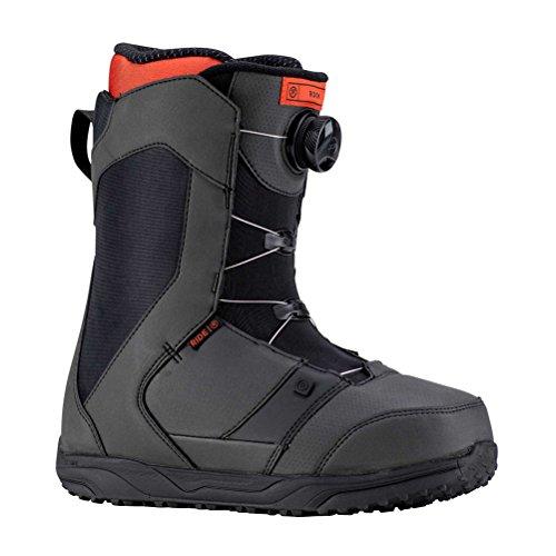 Ride Rook Boa Snowboard Boots 2019-9.0/Black