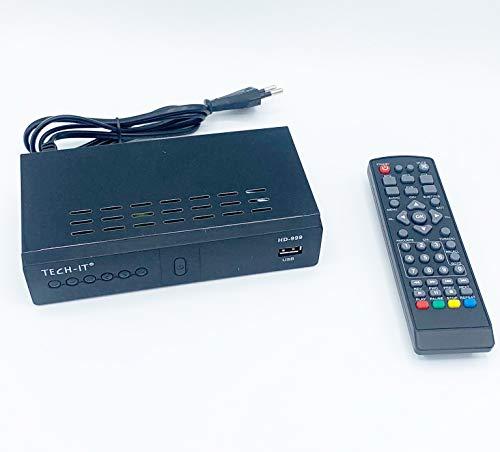 Deals -Decodificador receptor digital terrestre DVB-T3 TV euroconector HDMI 1080P HD 999