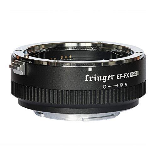 Fringer EF-FX2 Pro II - Anillo Adaptador de Objetivo para Canon EOS Tamron Sigma Lens a Fujifilm FX Mirroless Camera X-T3 XH1 X-E3 XT20 X-Pro2 X-T2 X-A X-E1 X-M1 XT1 X-T30